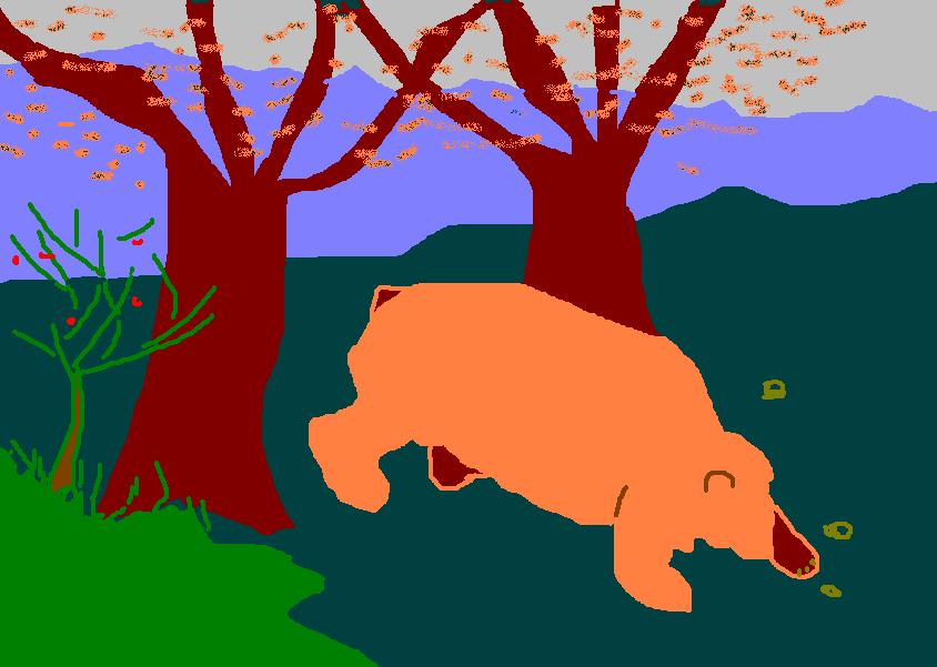 El hombre oso G