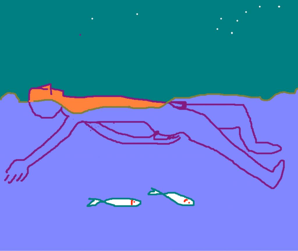 El hombre pez 13