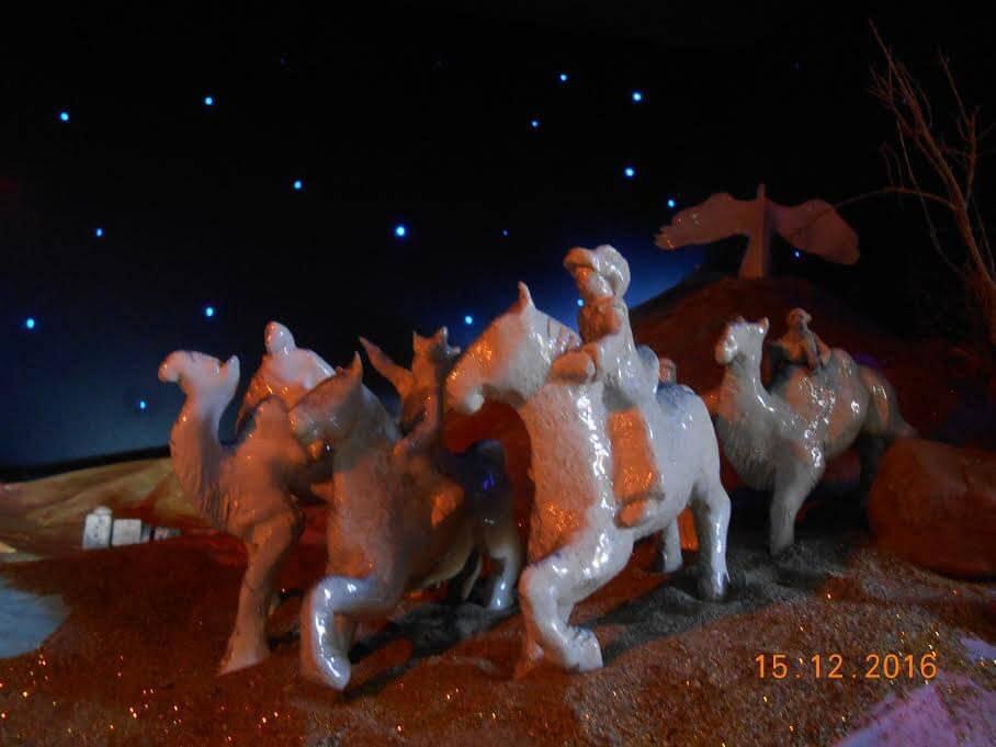 Diorama navideño vista 2