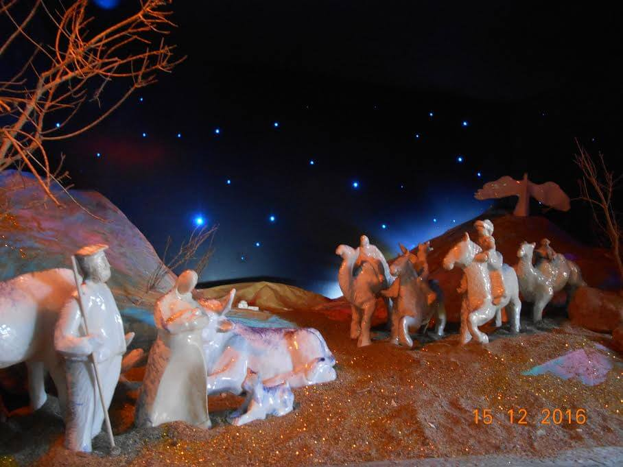 Diorama navideño ,vista 3